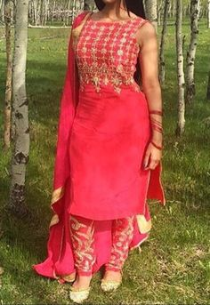 Punjabi Embroidered Kurti