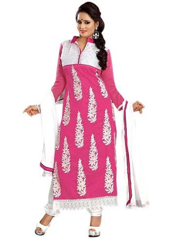 Punjabi Floral Salwar Suit
