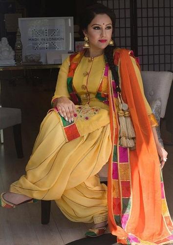 Punjabi Traditional Salwar Kurta