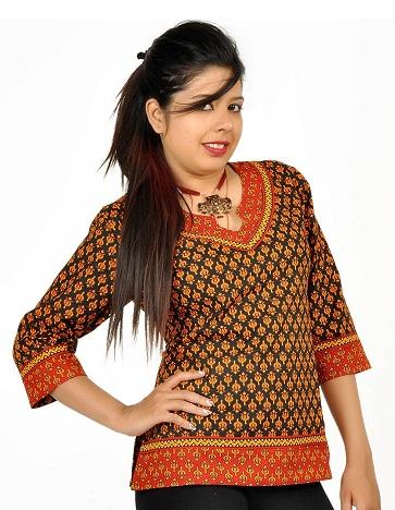 Rajasthani Short Kurti
