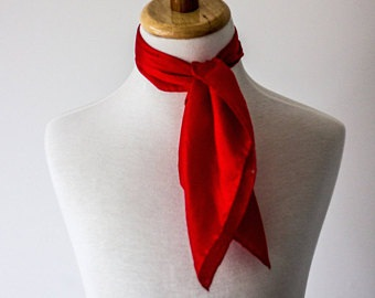 Red Neck Scarf