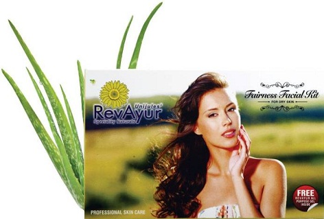 RevAyur Facial Kit For Dry Skin