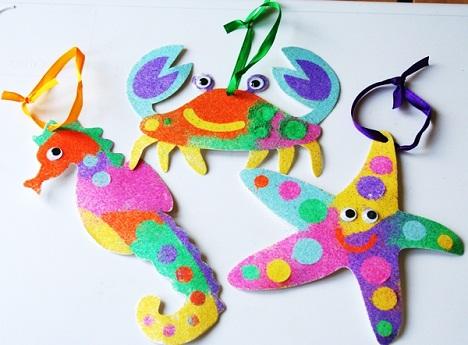 Sea Animals Summer Craft