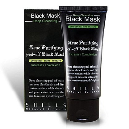 Shills Bamboo Charcoal Oil Control Blackhead Remover Peel off Mask