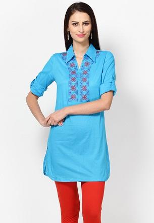 Shirt Collar Kurta