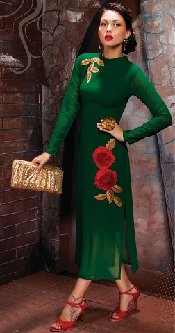 Side Embroidery Kurti