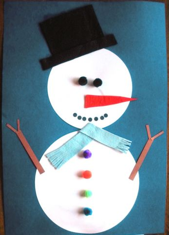 Simple Snowman Crafts
