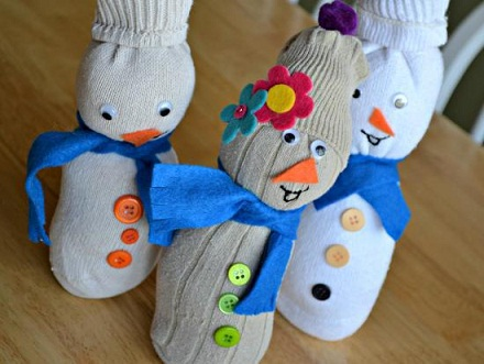 sock craft ideas 9 easy snowman crafts to make at home styles at 2966
