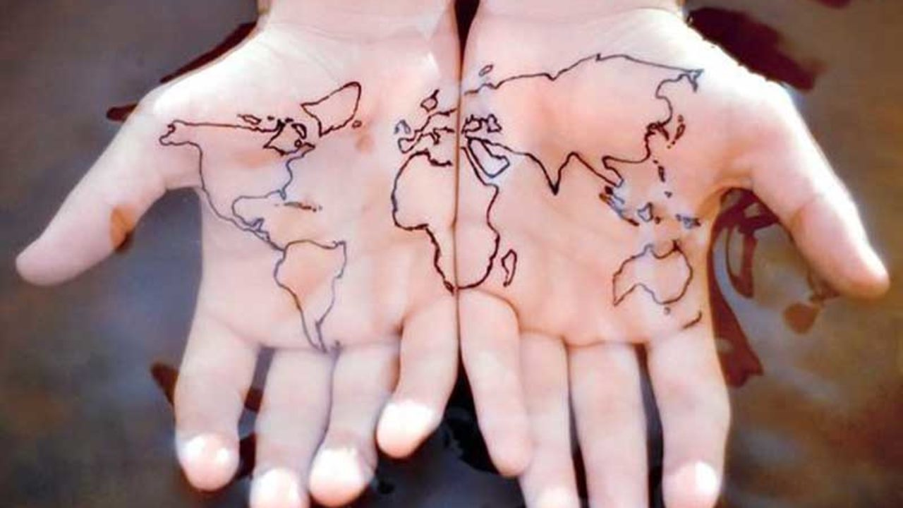 9 Best World Map Tattoo Designs, Ideas And Meaning For ...