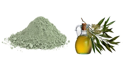 Tea Tree Oil and Green Clay Face Pack