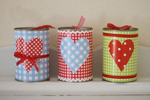 Tin Can Gift Box Craft