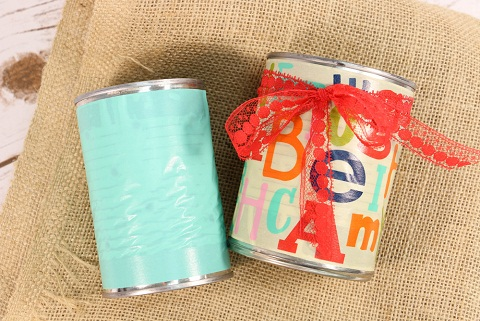 Tin Can Storing Box Craft