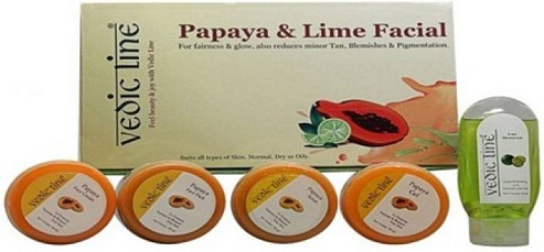 Vedic Line Papaya Facial Kit