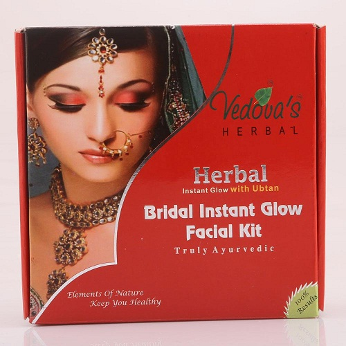 Vedova's Herbal Bridal Instant Glow Facial Kit