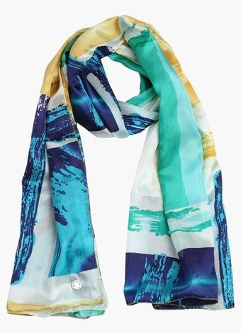 Women's Indian Silk Scarf