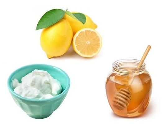 honey and lemon for dandruff