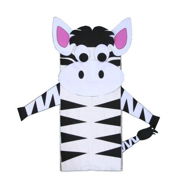 Zebra Craft Ideas For Kids and Preschoolers