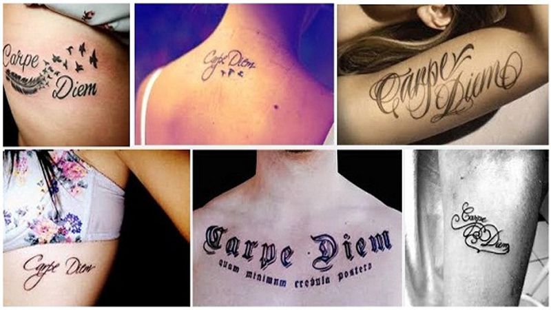 15 Best Carpe Diem Tattoo Designs With Meanings Styles At Life