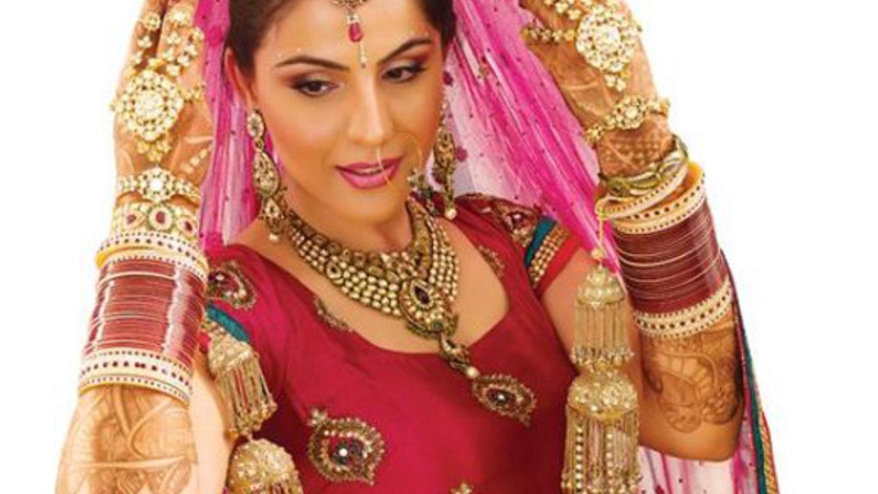 how to do punjabi bridal makeup | styles at life