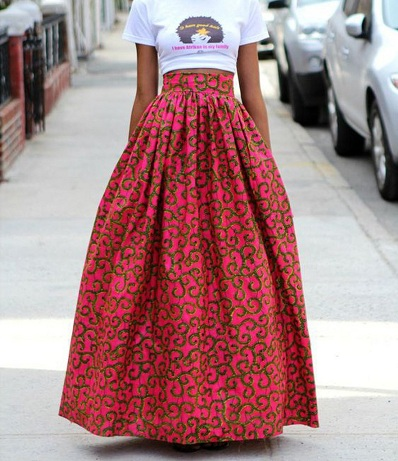 Top 21 Trendy And Fashionable Long Skirt Designs With Images