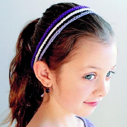 3 Strand Crochet Headbands