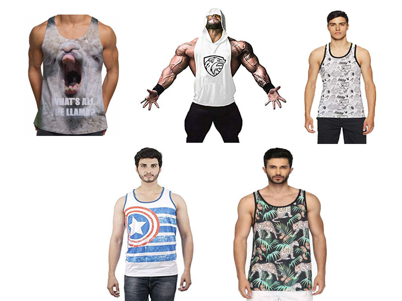 printed vests