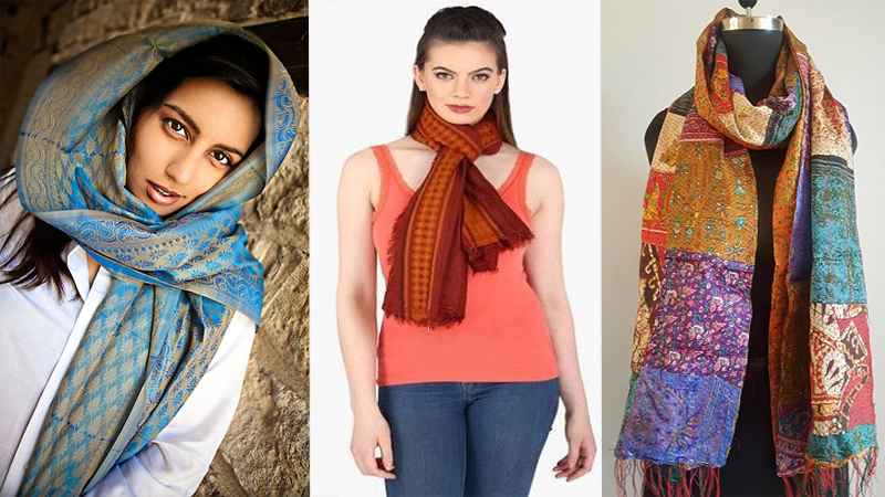 0d99274a14e 9 Modern and Traditional Indian Scarf Designs