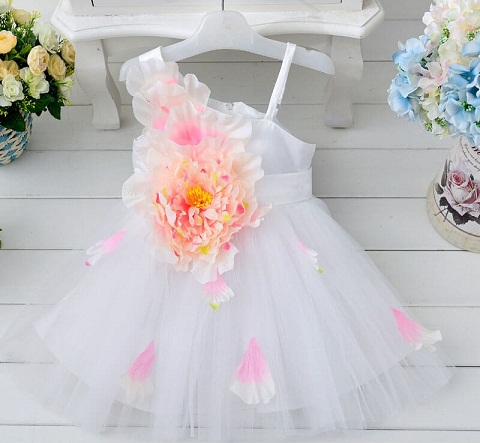430629296fb1d An A-line baby girl dress design is perfect for a party