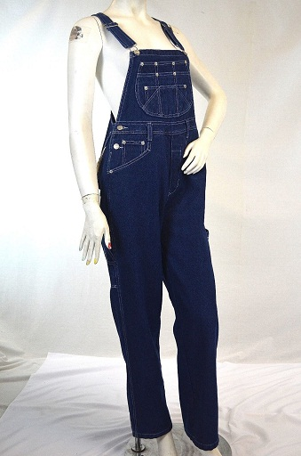 Adjustable bib overall for women's