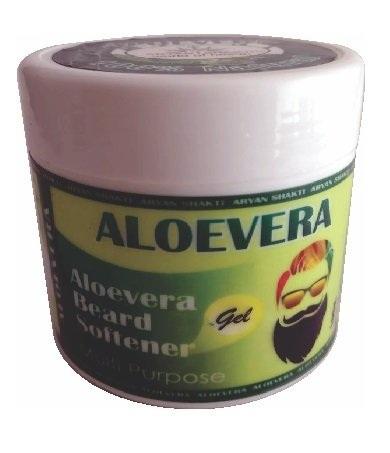 Aryan Shakti's Aloevera Beard Softener Gel