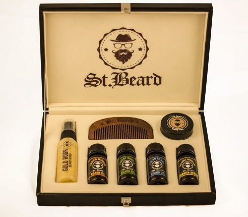 Gift Your Loved One This Cool Best Beard Grooming Kit That Has All The  Essentials In It. The Kit Includes Beard Oils Of Different Types As Well As  Balm And ...