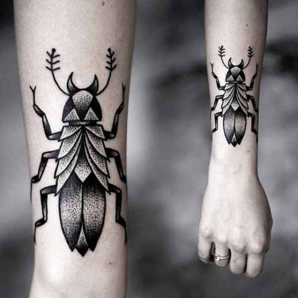 Beautiful Insect Tattoos for Women