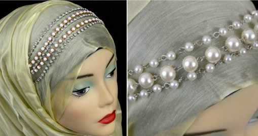 Bejeweled Headband Hijabs