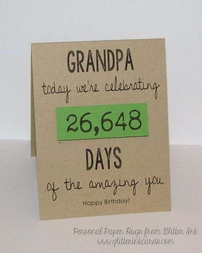 Celebrating Grandpa Birthday Is Very Happy And Awesome Cherish It May Be Big Or Small Gift Spending The Happiest Moments Will Make Perfect Present For