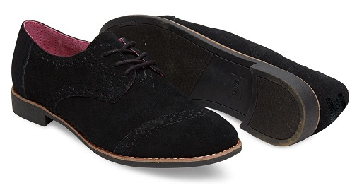 Black Suede Woman's Bourges