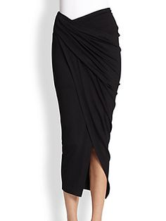 Black Beach Wear Sarong
