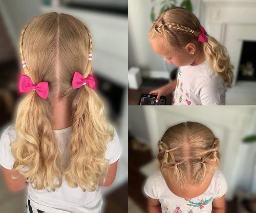 10 Simple School Girl Hairstyles For Medium Hair Styles At Life