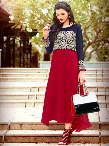 Branded Flared Kurtis