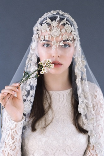 Bridal Head Scarf