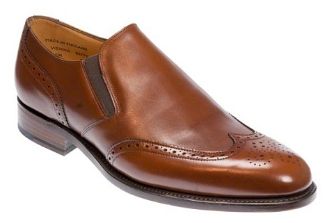 Brown Brogue Loafer