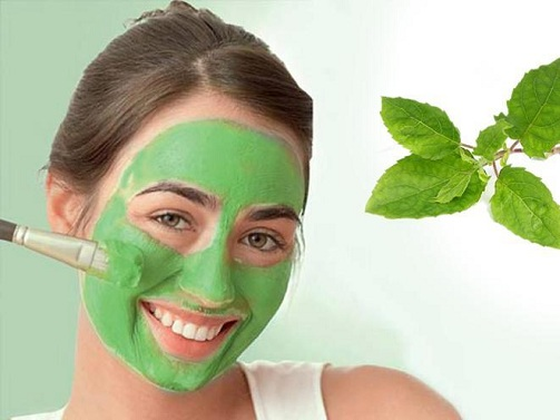 Cabbage, Mint,Milk Creme Skin Tightening Face Mask for Dry Skin