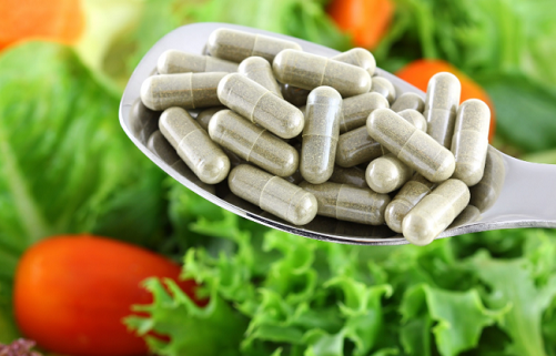 Capsules of Vitamin K for Dark Circles
