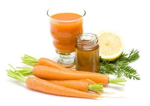 Carrot Honey Face Mask
