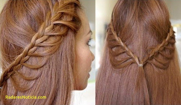 Cascading Braid Hairstyle