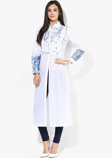 Casual Long Sleeves Kurta