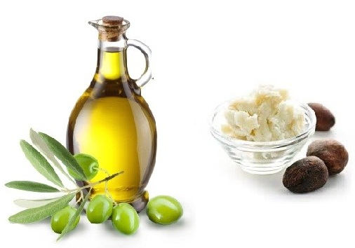 Cocoa Butter and Olive Oil