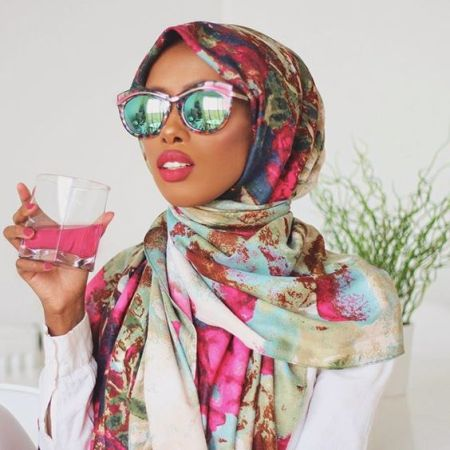 Colorful Hijab Style