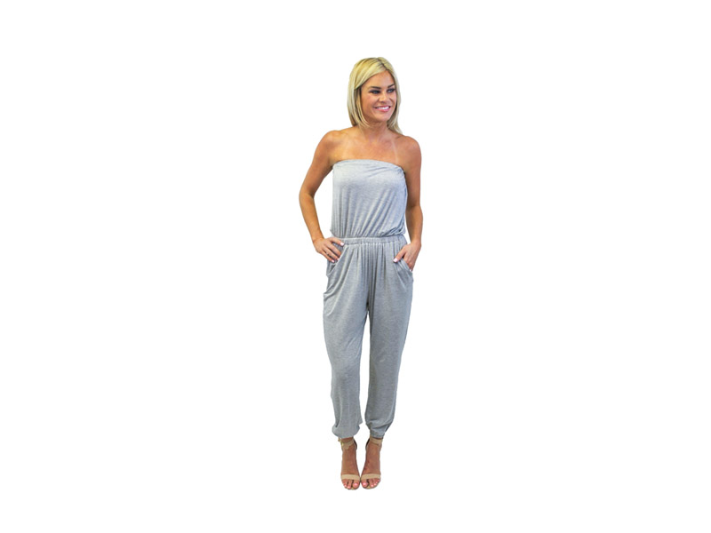 Comfortable Strapless Jumpsuits for Women