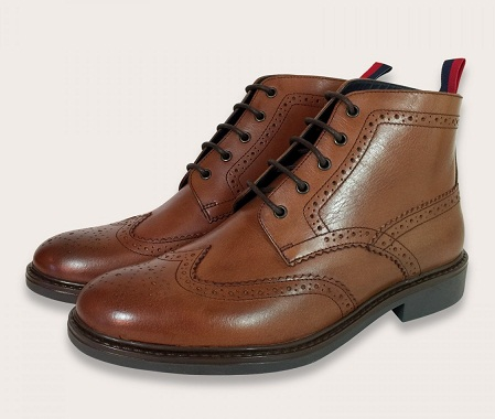 Comfortable Tan Brogue
