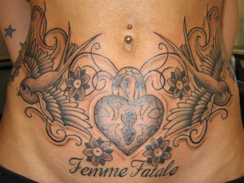6a649bf8f 9 Best & Cute Belly Button Tattoo Designs